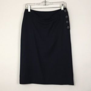 BANANA REPUBLIC Wool Pencil Skirt Made in Italy
